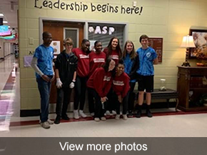 view more photos of students showing school spirit
