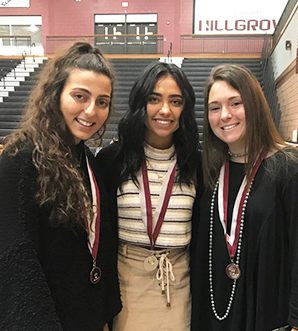 Congratulations to the Who's Who recipients from the Varsity Girls Soccer Team