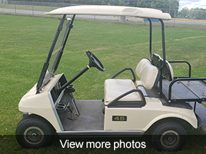 View more photos of the golf cart for sale