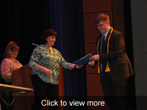 View more photos of the Senior Honors Night event