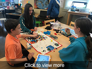 Photos of Robotics team