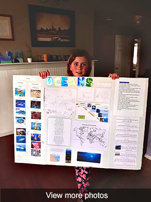 Click to view more photos of Emily Schwieder's Science Project