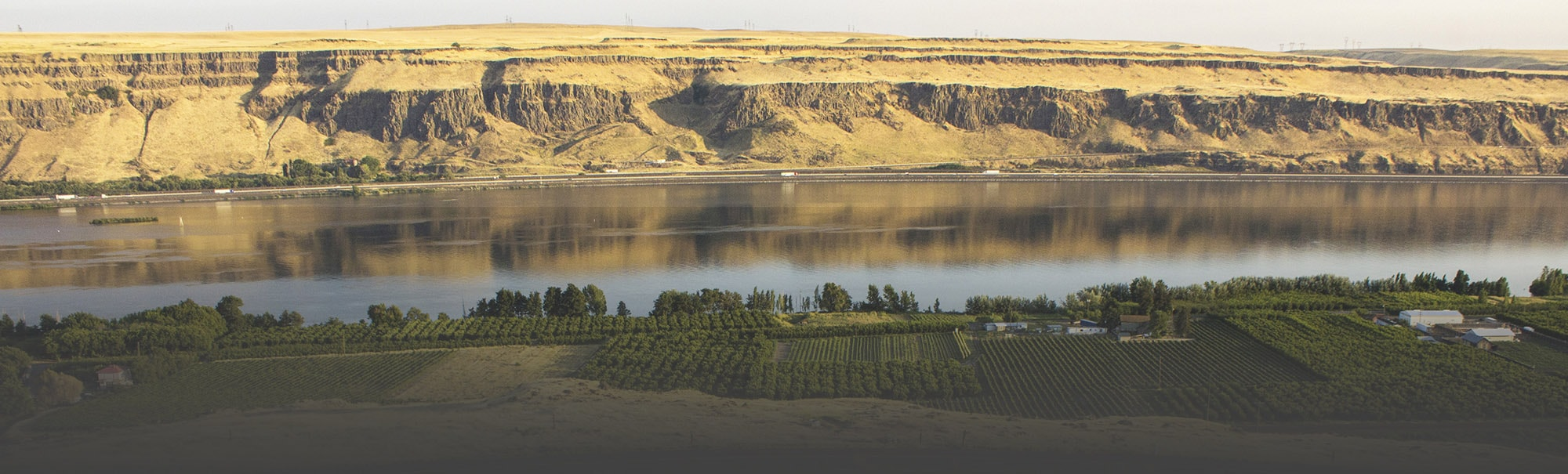 Beautiful Image of Hermiston along the Columbia River