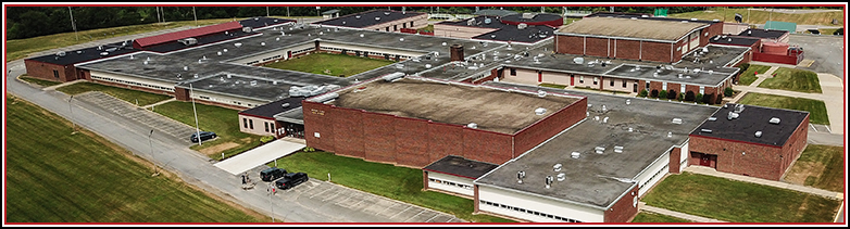 Overhead view of school