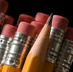 pencils closeup