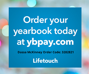 Order your yearbook today - order code 3282821