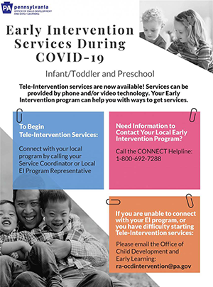 Early Intervention Services during COVID-19