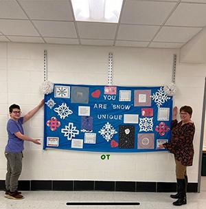You Are Snow Unique bulletin board