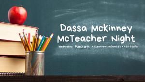 Dassa McKinney McTeacher Night Flyer