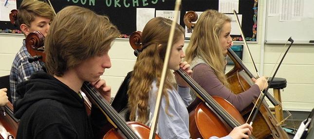 Harrison High School Students