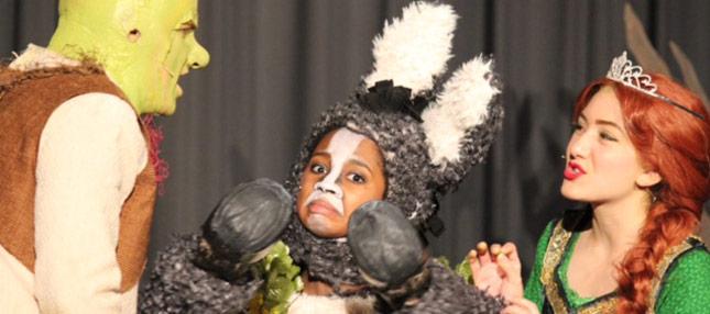 Shrek the Musical - Shrek, Fiona, and Donkey