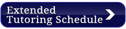 Extended Tutoring Schedule