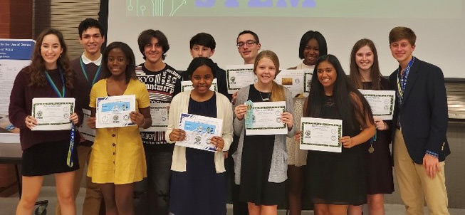 2020 STEM students