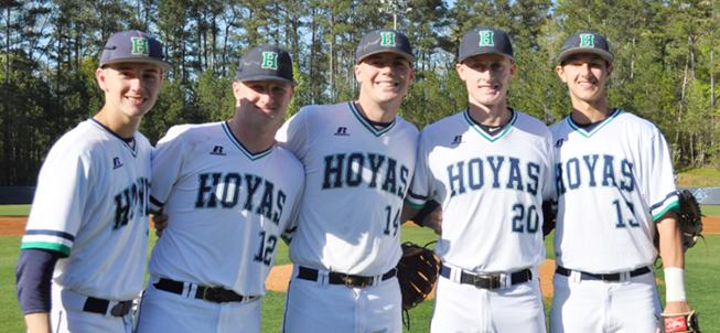 Harrison High School Baseball Athletes