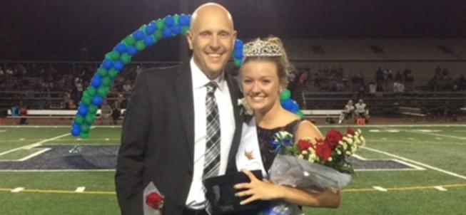 Harrison High School Homecoming Queen