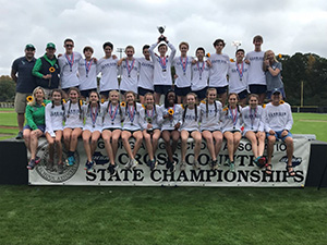 Cross Country Team- State Champions