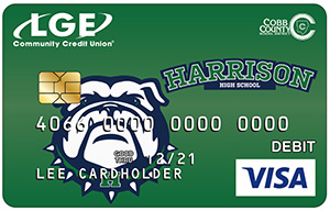 Harrison High LGE Debit Card