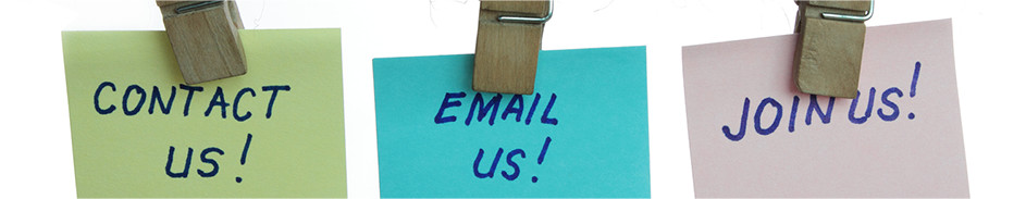 Contact us, email us, join us