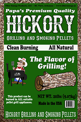 Hickory Grilling and Smoking pellets