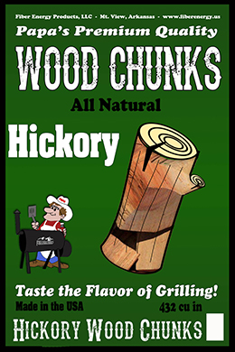 Hickory Wood Chumps