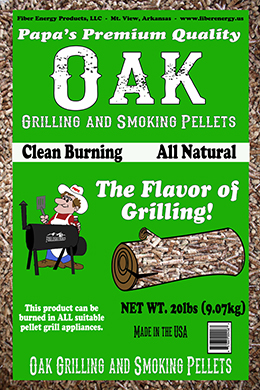 Oak Grilling and Smoking Pellets