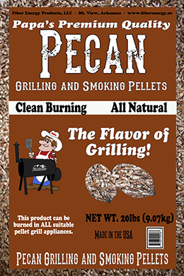 Pecan Grilling and Smoking Peletts