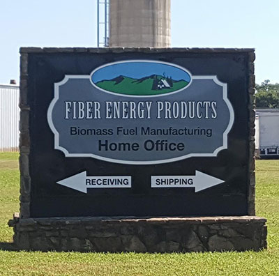 Fiber Energy Products sign