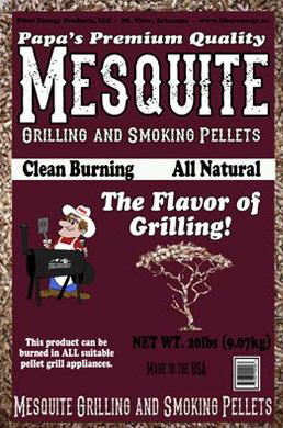 Mesquite grilling and smoking pellets