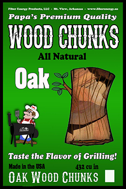 Oak Wood Chunks
