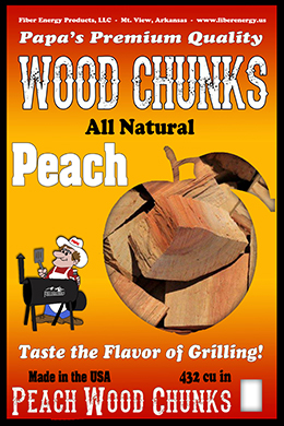 Peach Wood Chunks