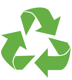 three recycle arrows