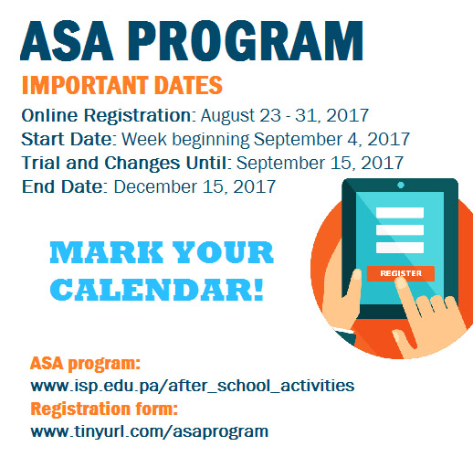 link to after school activities page