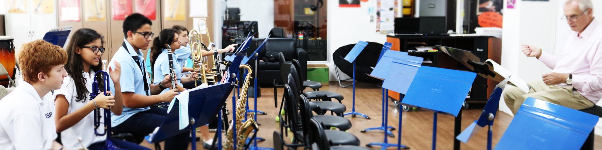 Teacher and Student musicians