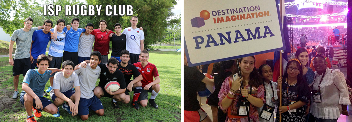 Rugby and Imagination students