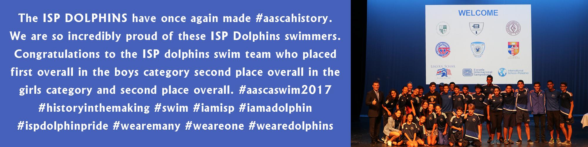 2017 Swim Invitational March 16-19, 2017 - AASCA Swimming Panama, International School of Panama