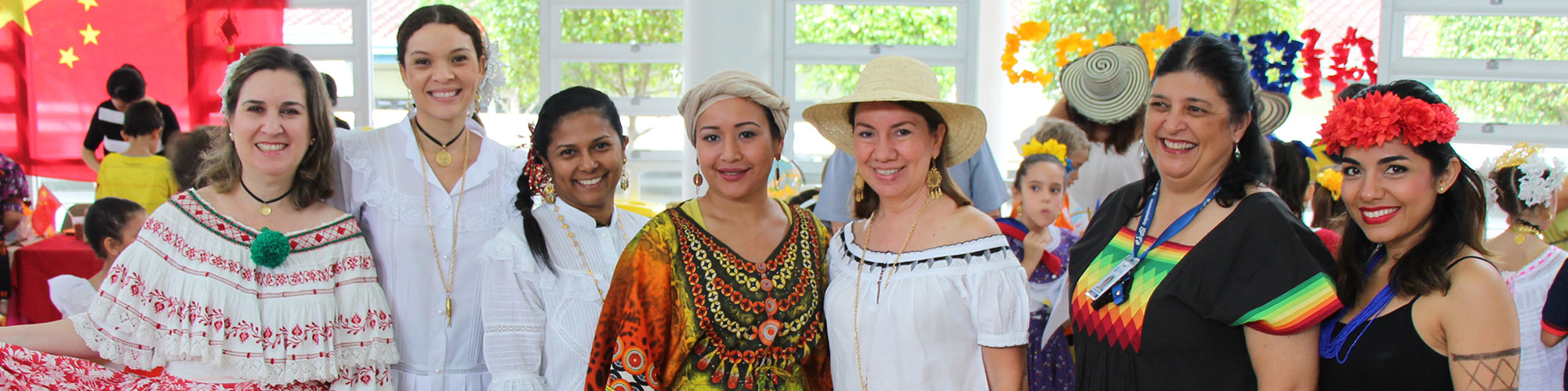 Staff at International Day