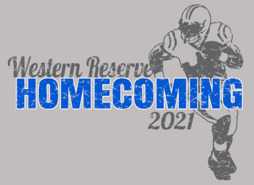 Western Reserve Homecoming 2021 T-Shirt Design