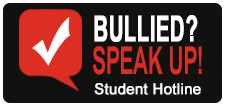 Bullied Speak Up Student Hotline
