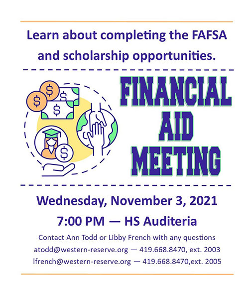 Click for Financial Aid Meeting flyer