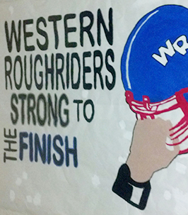 Western Roughriders Strong to the Finish