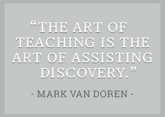 Van Doren quote