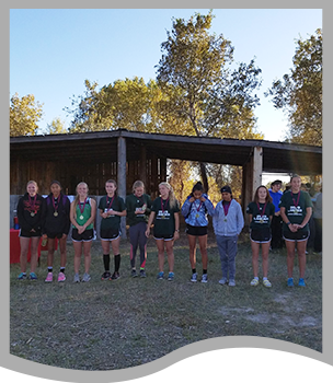 High School cross country girls make it to the top ten