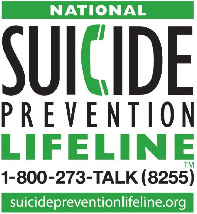 National Suicide Prevention Lifeline - 1-800-273-8255