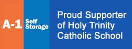 A1  Self Storage Proud Supporter of Holy Trinity Catholic School