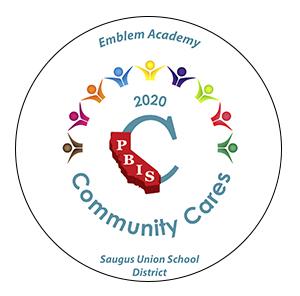 Emblem Academy 2020 Community Cares PBIS Award