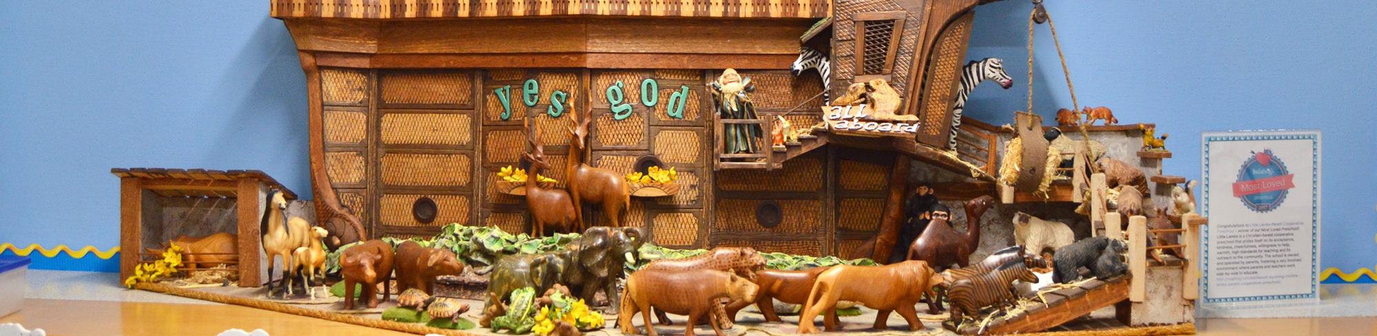 Noahs Ark display