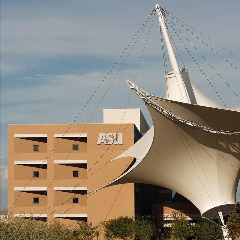 photo of ASU Ed Tech building