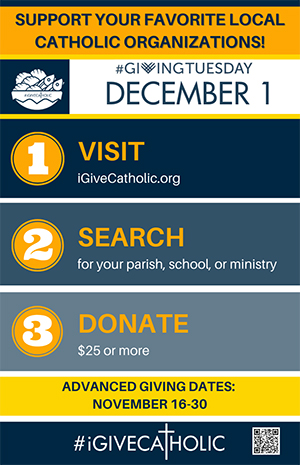 Support your favorite local Catholic Organizations