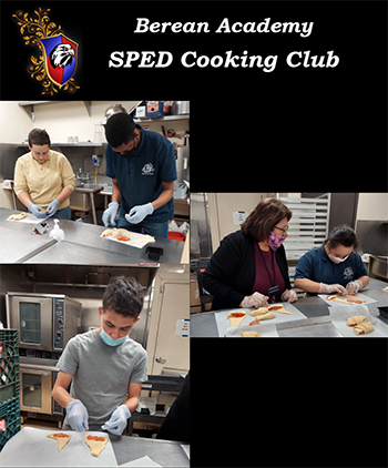 Berean Academy SPED Cooking Club