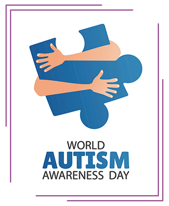 World Autism Awareness Day concept